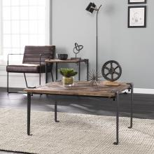 Talvern Square Reclaimed Wood Coffee Table