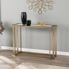 Magdalere Contemporary Mirrored Console Table