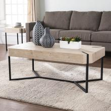 Tansterne Modern Farmhouse Cocktail Table