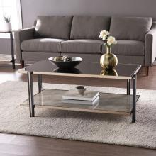 Thornsett Cocktail Table w/ Mirrored Top