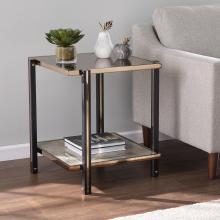 Thornsett End Table w/ Mirrored Top