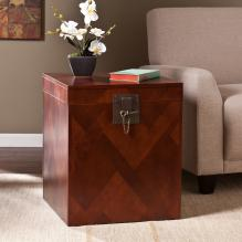 Patchwork End Trunk - Cherry