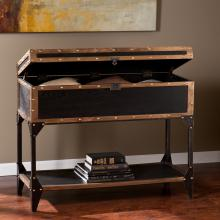 Drifton Travel Trunk Console Table
