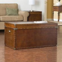 Steamer Trunk Cocktail Table