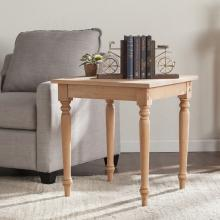 Harwich Unfinished Wood End Table