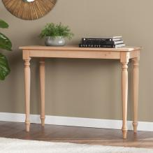 Harwich Unfinished Wood Console Table