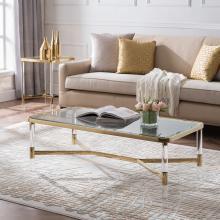 Altair Acrylic Cocktail Table