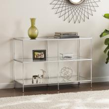 Knox Glam Mirrored  Console Table - Chrome