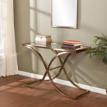 Vogue Console Table - Champagne Brass