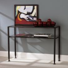 Metal Sofa Table - Black