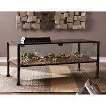 Terrarium Display Cocktail Table