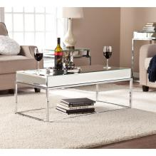 Dana Mirrored Cocktail Table