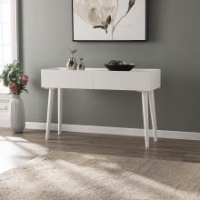 Leverdale Bright White Console Table