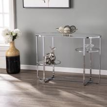 Maxina Mirrored Console Table w/ Storage
