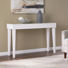 Pertenhall Glass-Top Console Table