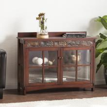 Camino Mission Faux Slate Sideboard and Display Curio