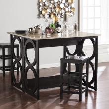 Radia Faux Marble Counter Height Console/Dining Table