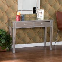 Mirage Mirrored 2-Drawer Console Table