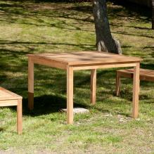 Teak Square Dining Table