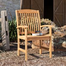 Waverly Teak Arm Chair 2Pc Set