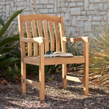 Gentry Teak Arm Chair