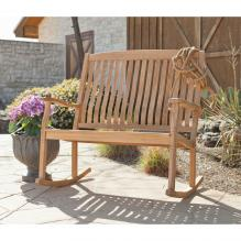 Rockfort Teak Double Rocker