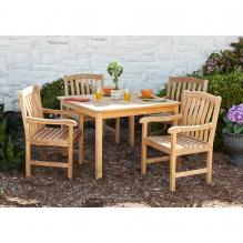 Summersby Teak 5Pc Dining Set