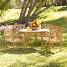 Teak Dining 5Pc Set