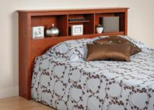 Cherry Full / Queen Bookcase Headboard
