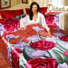 Diana Jasmine, Duvet Cover Bed In Bag, Queen Bedding Set