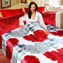 Diana Refresh, Duvet Cover Bed In Bag, Queen Bedding Set