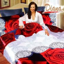 Diana Rose, Duvet Cover Bed In Bag, Queen Bedding Set