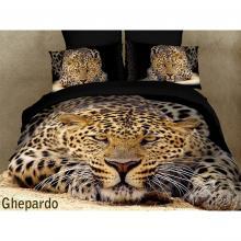 Duvet Cover Set Ghepardo, Bed in Bag, Dolce Mela King DM400K