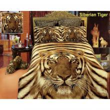 Duvet Cover Set Tiger, Bed in Bag, Dolce Mela Queen DM412Q