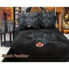 Black Panther, Duvet Cover Egyptian Cotton Luxury Bedding