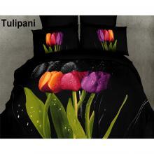 Duvet Cover Set Tulipani, Bed in Bag, Dolce Mela Queen DM416Q