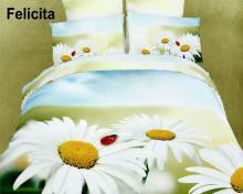 Felicita, 6 PCs Duvet Cover Set - Dolce Mela Gift Box DM418Q