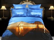 Louvre Paris, Duvet Cover Egyptian Cotton Luxury Bedding