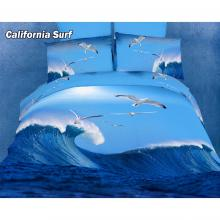 California Surf, Duvet Cover Egyptian Cotton Luxury Bedding