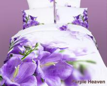 Egyptian Cotton Duvet Cover Set, Purple Heaven, DM442K