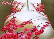 Egyptian Cotton Duvet Cover Set, Redbud Blossom, DM443K