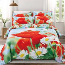 Floral King Duvet Cover Set Fitted Bedding | Dolce Mela DM508K