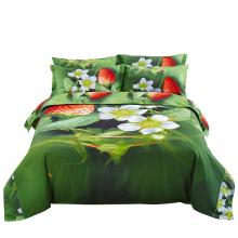 Duvet Cover Set Nature Queen Fitted Bedding Dolce Mela DM512Q