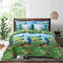 Dolce Mela - Peafowl - Queen Size