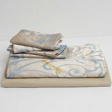 DM800Q   Queen Size Duvet Cover Set Jacquard Top & 100% Cotton Inside