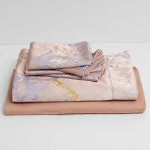 DM801K   King Size Duvet Cover Set Jacquard Top & 100% Cotton Inside