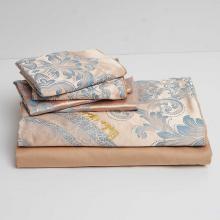 DM803K   King Size Duvet Cover Set Jacquard Top & 100% Cotton Inside