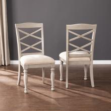 Brandsmere Upholstered Dining Chairs - 2pc Set