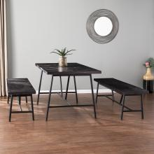 Halsguard Reclaimed Wood Dining Table Set