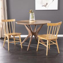 Wendlebury Natural Dining Chair Set - 2pc